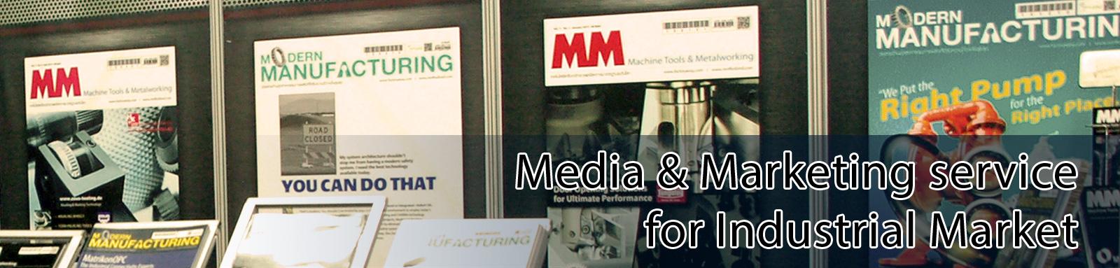 Media & Marketing service for Industrial Market
