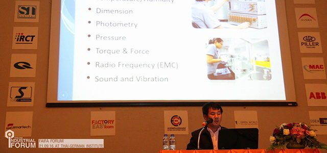 ภาพบรรยากาศงาน FaiFa Forum 2016 ณ สถาบันไทยเยอรมัน จ.ชลบุรี
