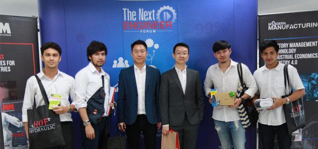 'The Next Engineer Forum 2017' จากพี่สู่น้อง… เตรียมความพร้อมวิศวกรก่อนเข้าสู่สนามอาชีพ มหาวิทยาลัยเทคโนโลยีพระจอมเกล้าธนบุรี
