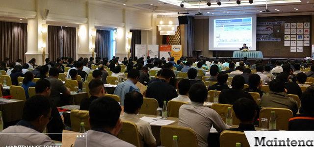 บรรยากาศงานสัมมนา Maintenance Forum 2017 จ. อยุธยา
